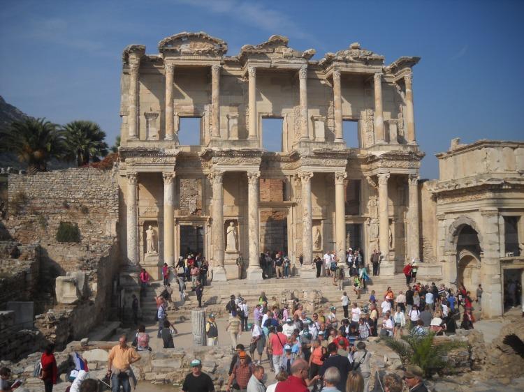 Bibilioteca de Celso, Efeso, Turquía