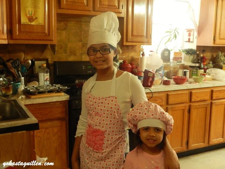 Celine y Daniela, cocineritas hermosas